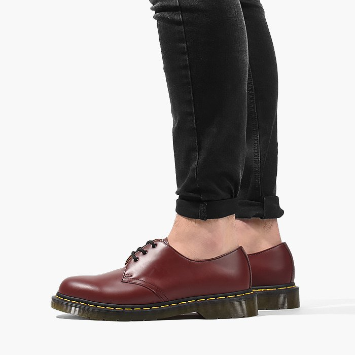 sneakers shopping lace up in Dr. Martens 1461 59 Cherry Red 10085600 - Best shoes ...