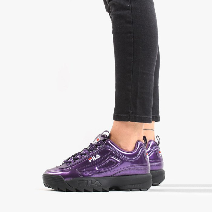 Fila disruptor ii 2 lilac purple trainer women sneaker