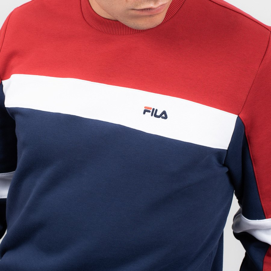 Men's blouse Fila Norbin Crew 682353 002 Best shoes
