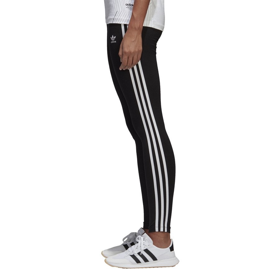 adidas Basic 3 Stripes Pant Women black shock red at Sport
