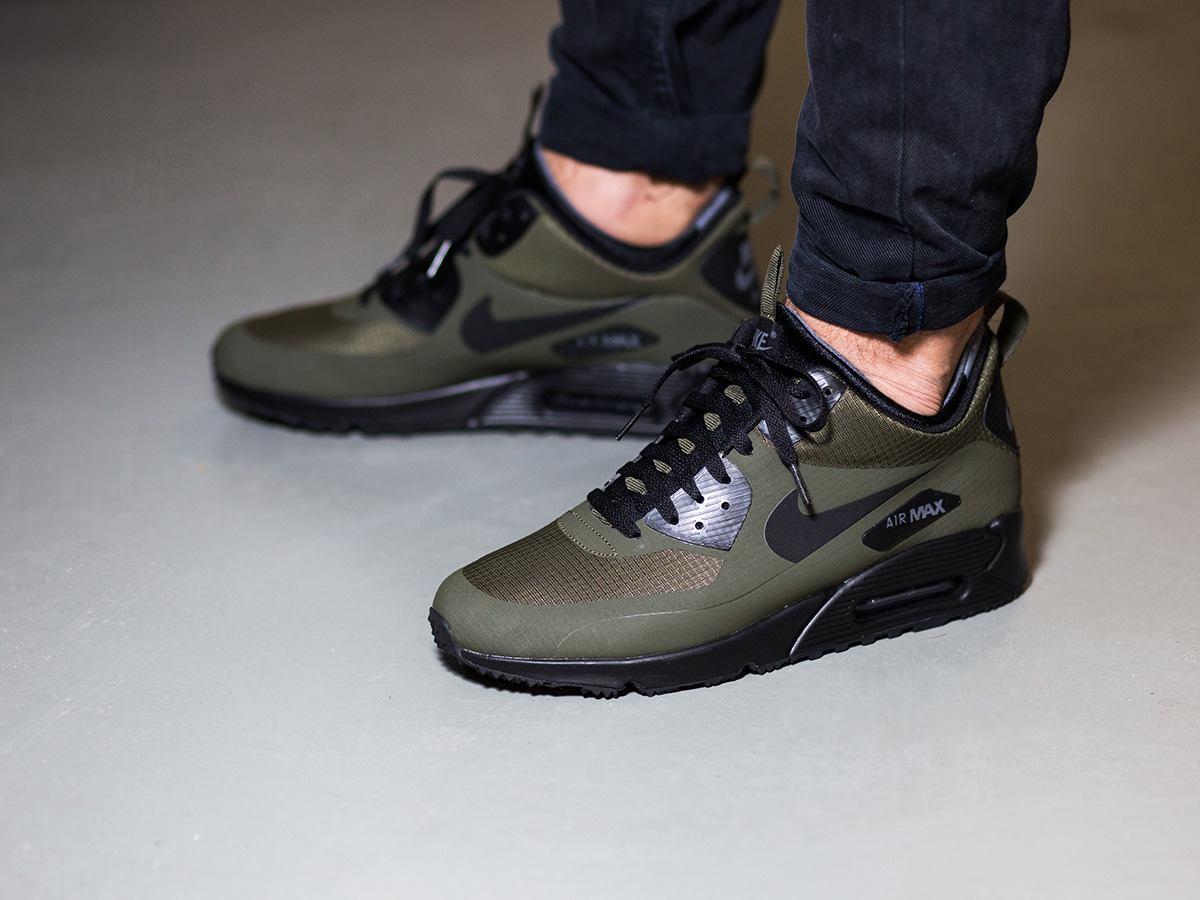 air max 90 herren mid winter black