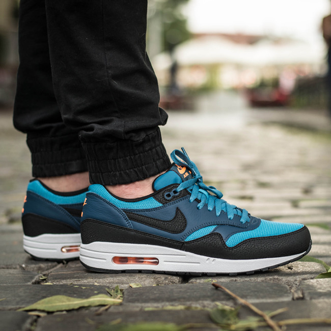 Nike Air Max 1 Mens Multi Couleurs Essentielles Formateurs
