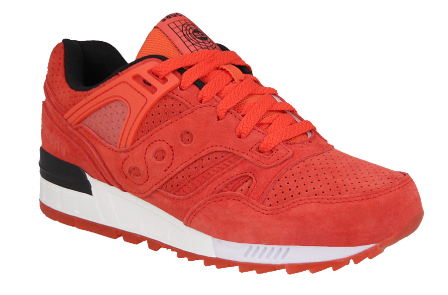 "... 1 MEN'S SHOES SNEAKERS Saucony Grid SD Red ""No Chill Pack"" S70198 ..."