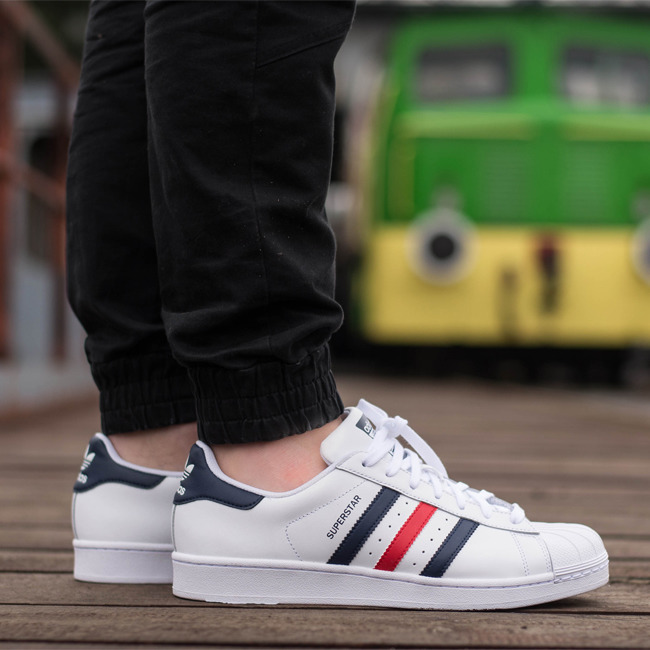 adidas originals superstar mens Green