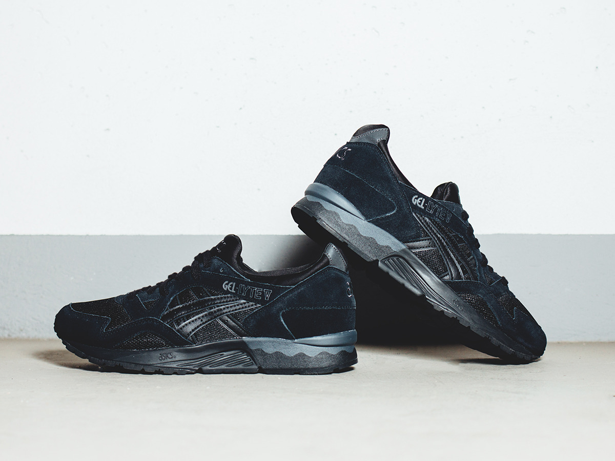 8699f44b110e0 ... mens shoes sneakers asics gel lyte v lights out pack h603l 9090