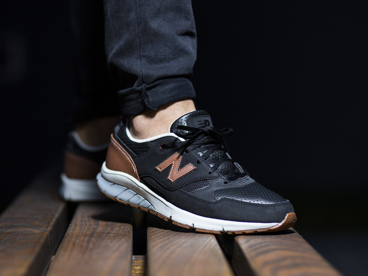 new balance leather pack