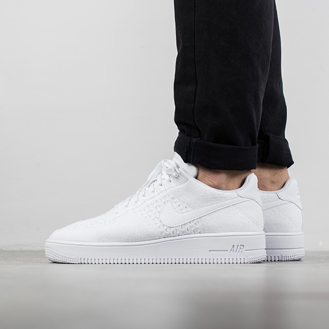 Nike Air Force 1 Sale Men Nike AF1 Ultra Flyknit Low Black
