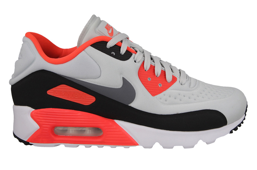 buy online 58a1c c5524 ... grey infrared a163a 6af69 inexpensive mens shoes sneakers nike air max  90 ultra se infrared 845039 006 7a29d f79e2 coupon ...