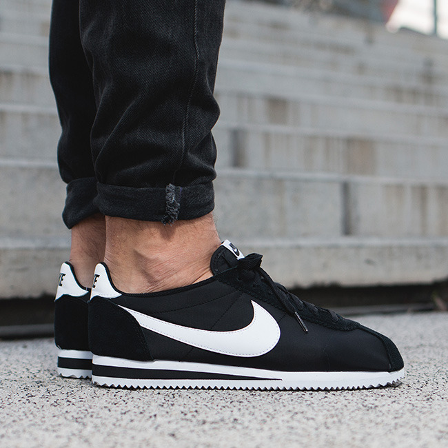 ... Mens Shoes sneakers Nike Classic Cortez Nylon 807472 011 ...