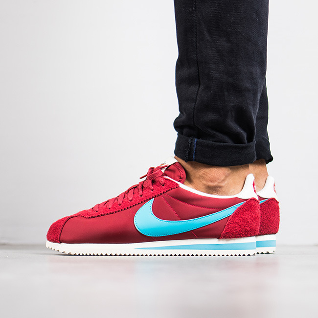 timeless design f14ee 71dff ... Men s Shoes sneakers Nike Classic Cortez Nylon Premium 876873 600 ...