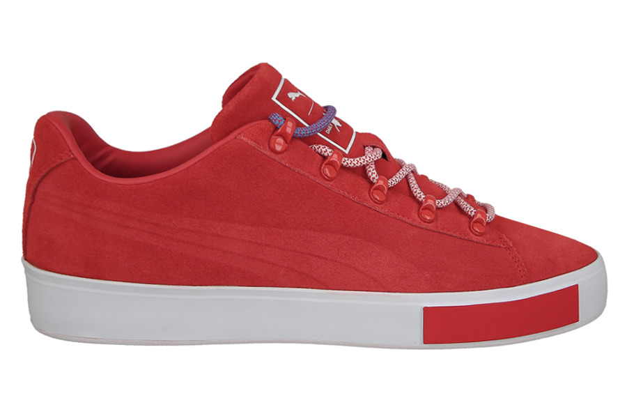 Red Court Shoes Size