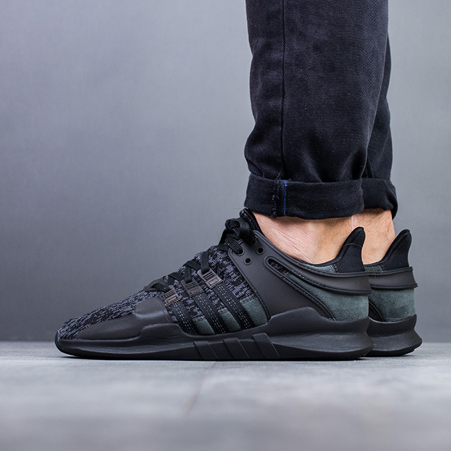 various colors 43c03 7e38b adidas originals eqt support adv triple black