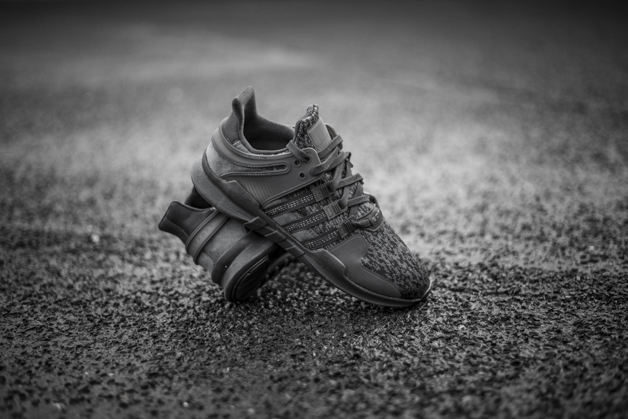 wholesale dealer 42280 37a77 ... mens shoes sneakers adidas originals equipment eqt support adv triple  black