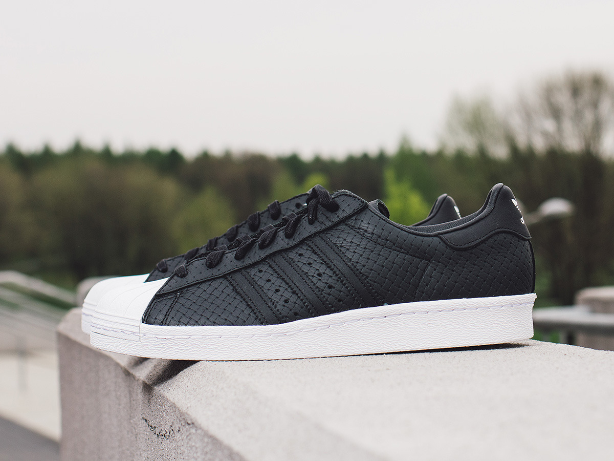 ... Men's Shoes sneakers adidas Originals Superstar 80s Woven S75007 ...