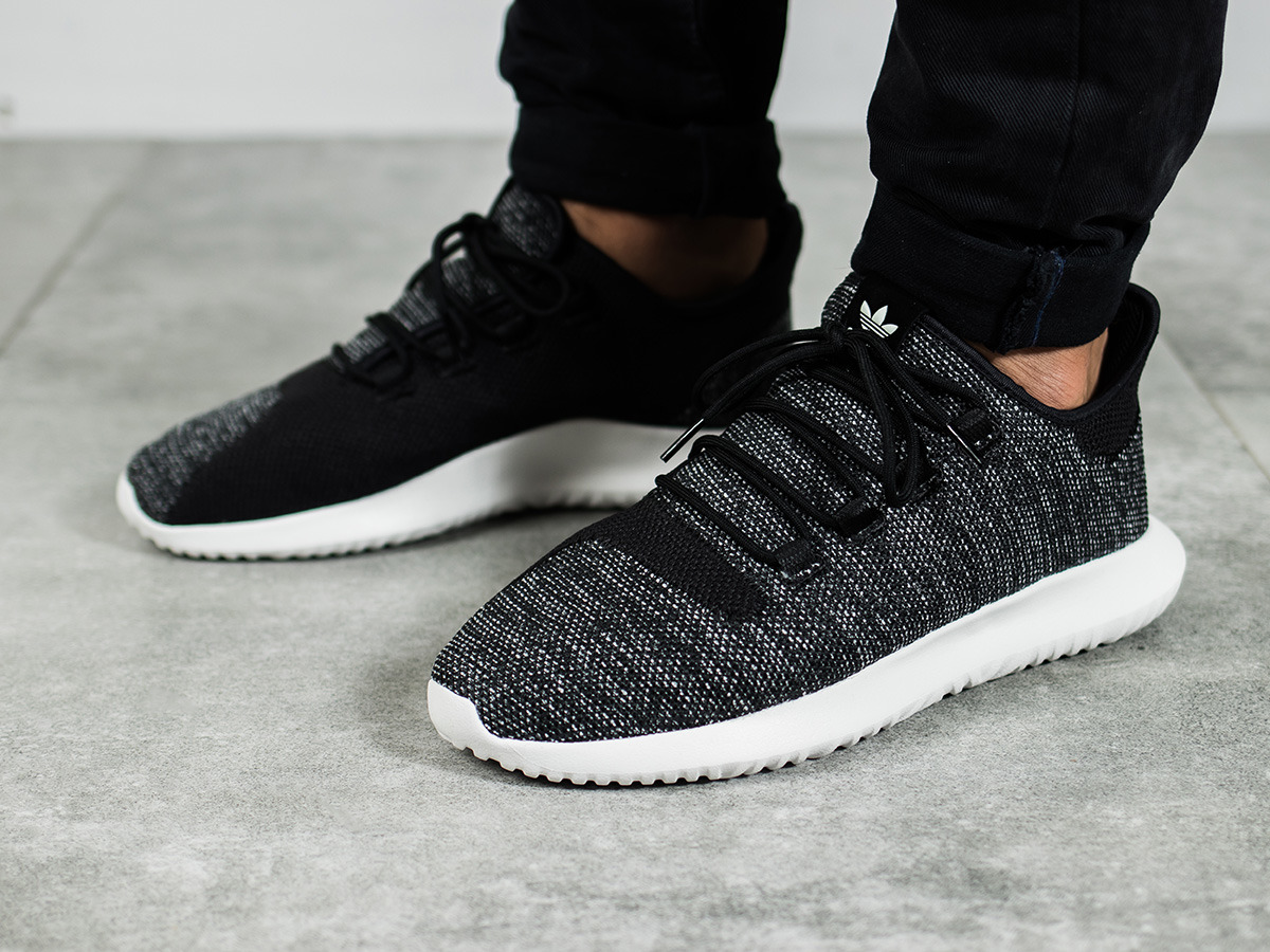 Adidas Originals Tubular Shadow Knit Preschool Unisex Shoes Black