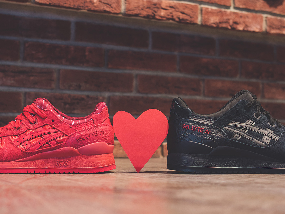 ... Menu0027s Shoes SneakersAsics Gel Lyte III Valentineu0027s Day Pack H63SK 9090  ...