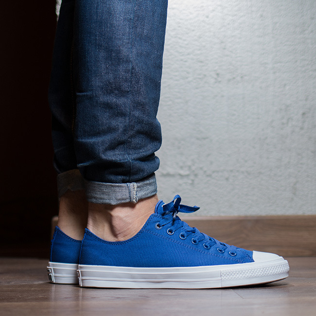 ... Men's Shoes sneakersConverse Chuck Taylor All Star II OX Sodalite  150152C ...