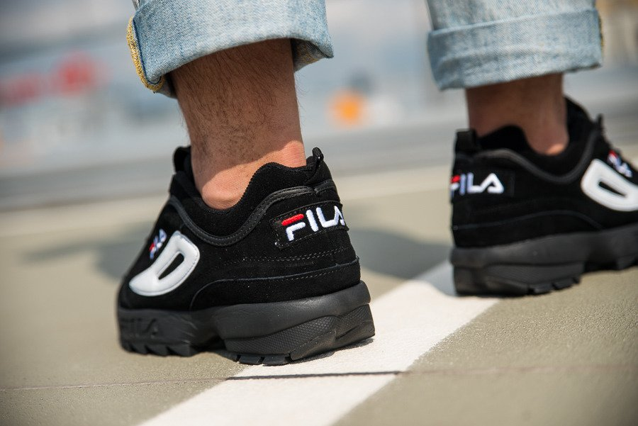 Shoes Best Men's 12v Fila 1010490 Disruptor Sneakers Low 7xq16f