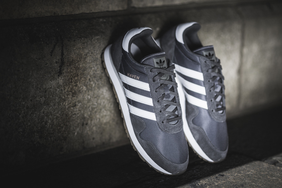 adidas originals haven trainers in grey by 9715