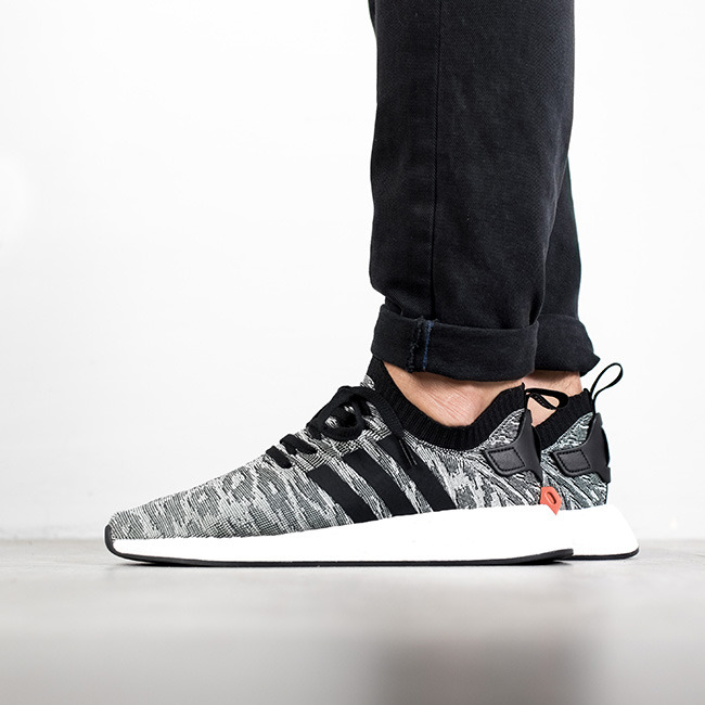 ... BY9409 Men's shoes sneakers adidas Originals NMD_R2 Primeknit