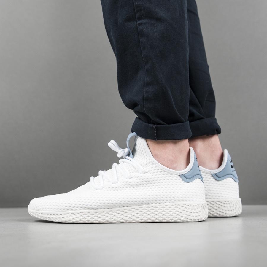 Pharrell Williams Tennis Hu Shoes Outfit