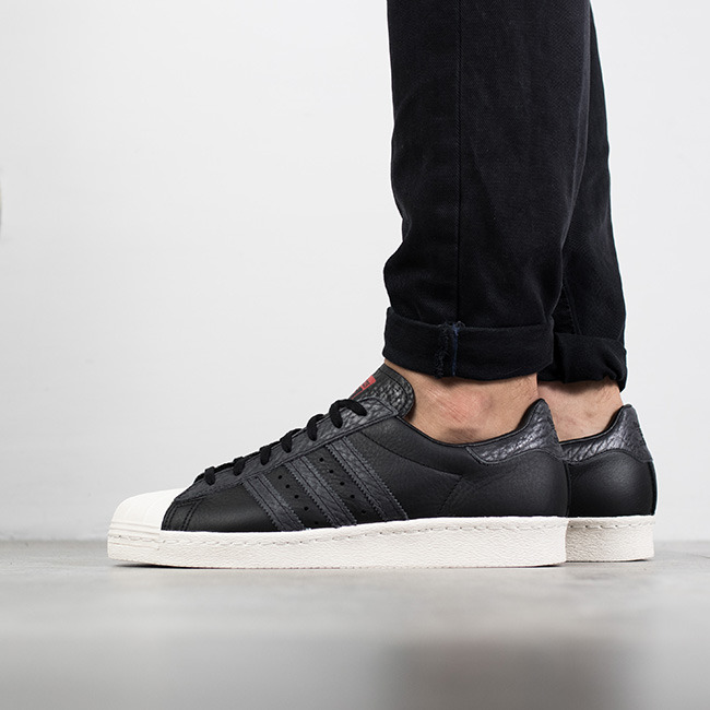 adidas core black superstar