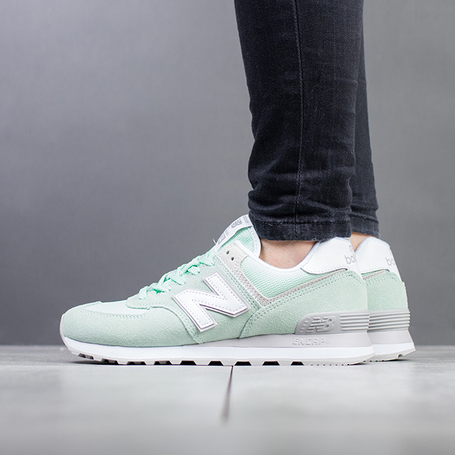 new balance verde acqua