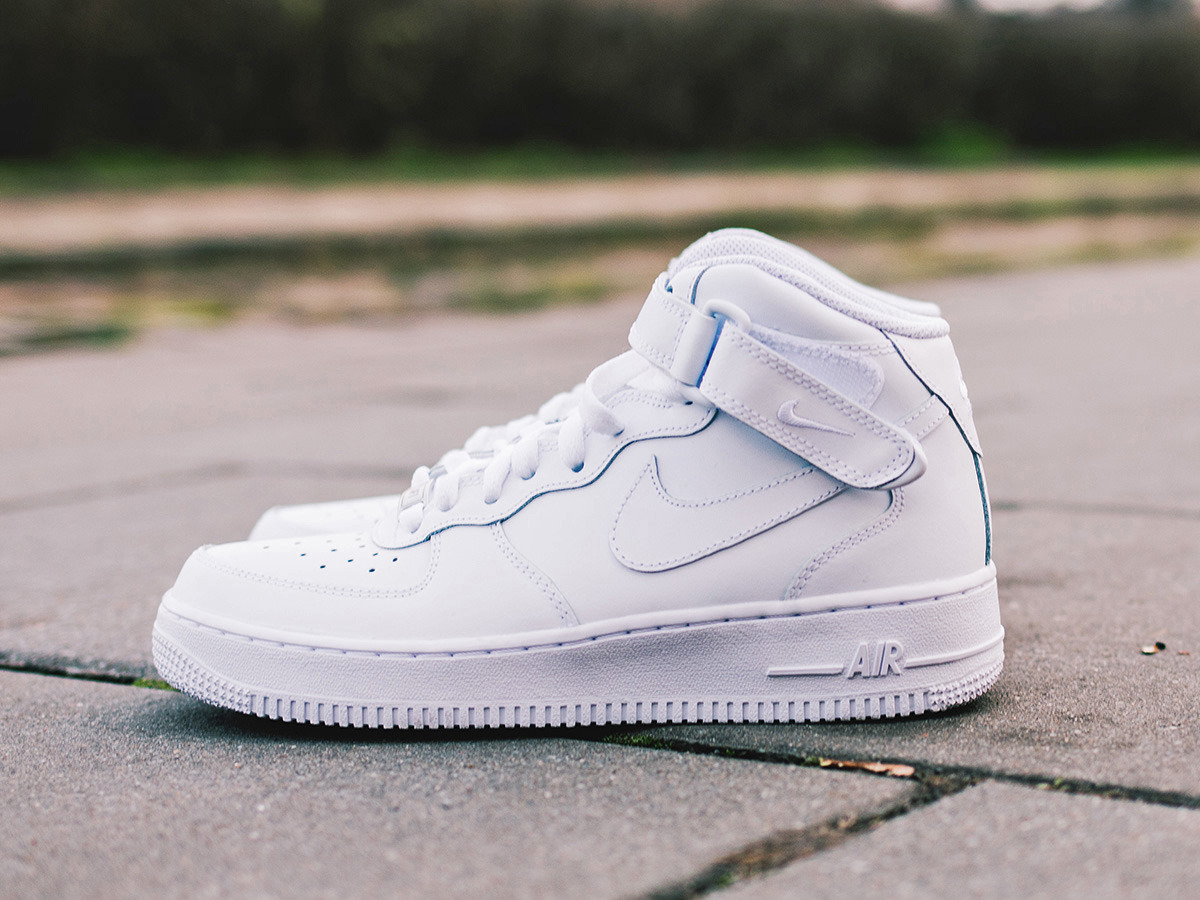 Nike Air Force 1 Mid (GS) 314195 113 Best shoes SneakerStudio