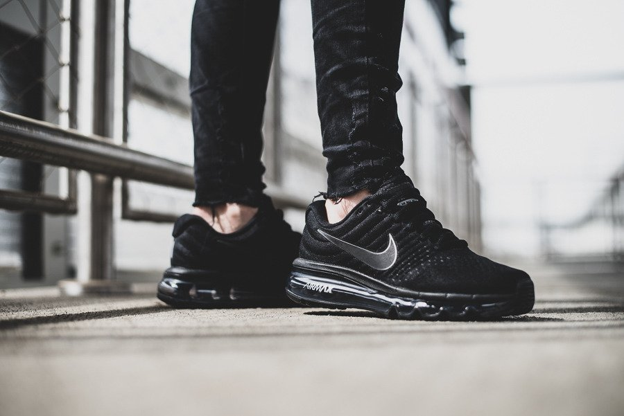Nike Air Max 2017 GS Black White