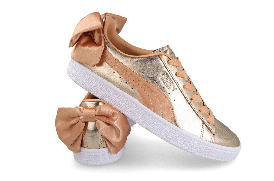 sneakers for cheap f335d 7375e Puma Basket Bow Luxe Wns 367851 01 - Best shoes SneakerStudio