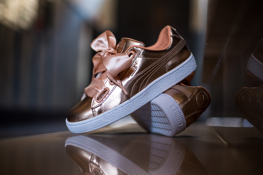 reputable site a7c30 9192a Puma Basket Heart Luxe 366730 03 - Best shoes SneakerStudio