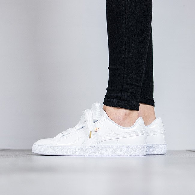 huge discount 1094e 8a87b 363073-02 Puma Basket Heart Patent women's shoes | SneakerStudio