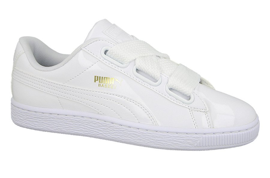 363073 02 Puma Basket Heart Patent women's shoes | SneakerStudio