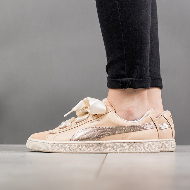 hot sales 05b82 f700b Puma Basket Heart Up Wns 364955 01 - Best shoes SneakerStudio