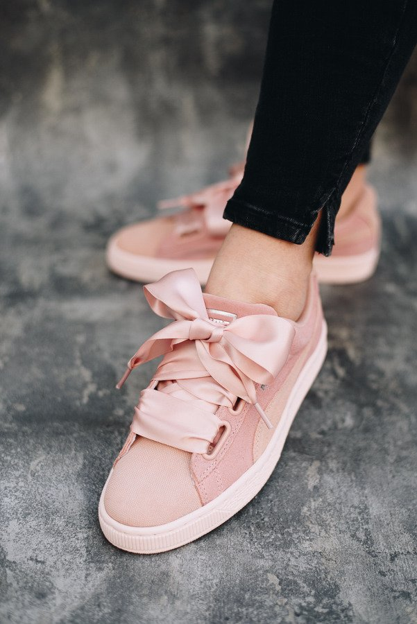 Puma Wns Suede Heart Pebble
