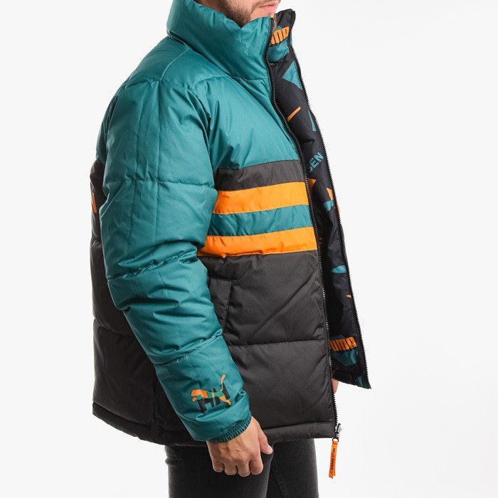 Puma x Helly Hansen Jacket Teal Green-AOP front 597081 98 ...