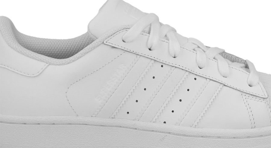 adidas Superstar Foundation Big Kids S81017 White Green Shell Toe