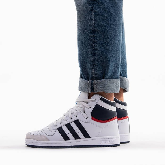 ... SNEAKER SHOES ADIDAS ORIGINALS TOP TEN HI D65161 ...