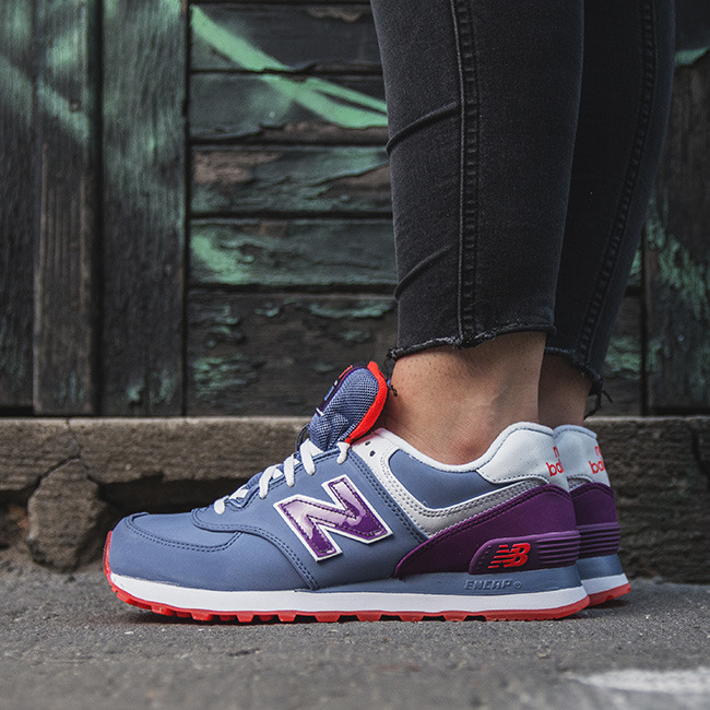 SNEAKER SHOES NEW BALANCE GLACIAL PACK WL574SLX - Best shoes ...