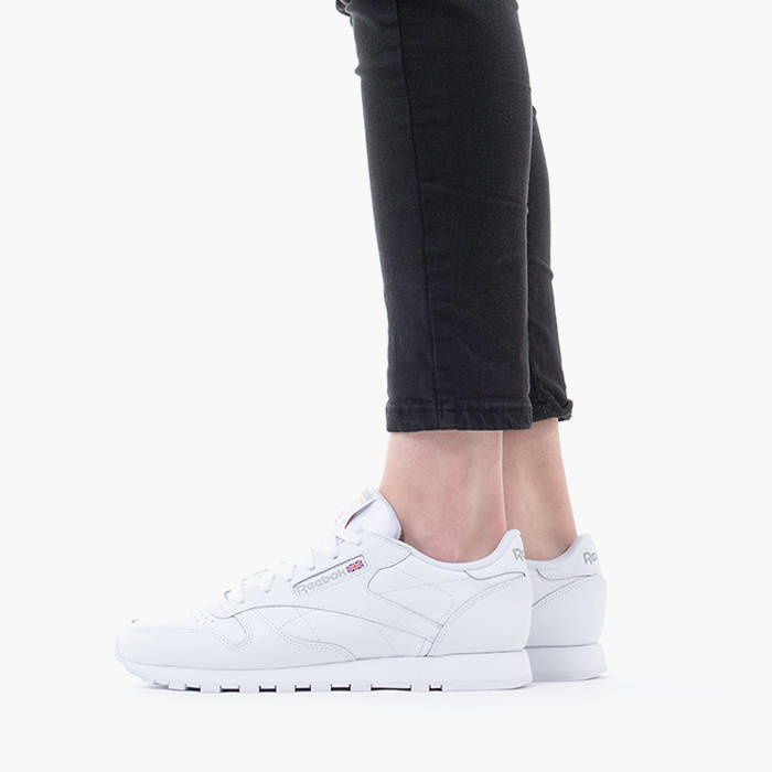 reebok classic leather white 38 5