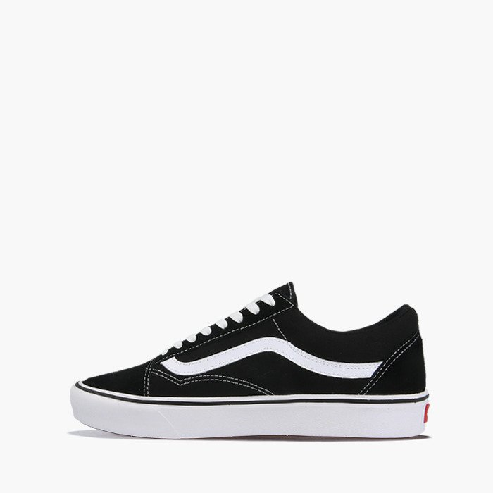 NEW Mens VANS OLD SKOOL PLATFORM SNEAKER Black Black CANVAS Skate Shoes GENUINE