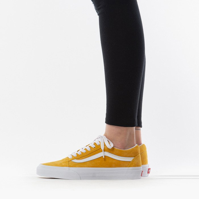 Discount Vans Old Skool Yellow Trainers for Men Sale Online