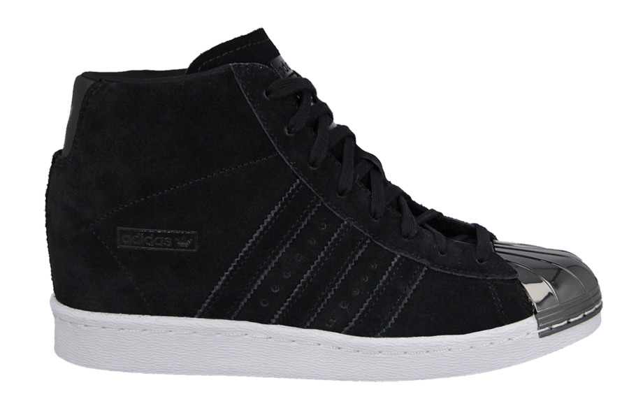 Adidas Womens Superstar Up 2 Strap W Shoes Navy Blue White