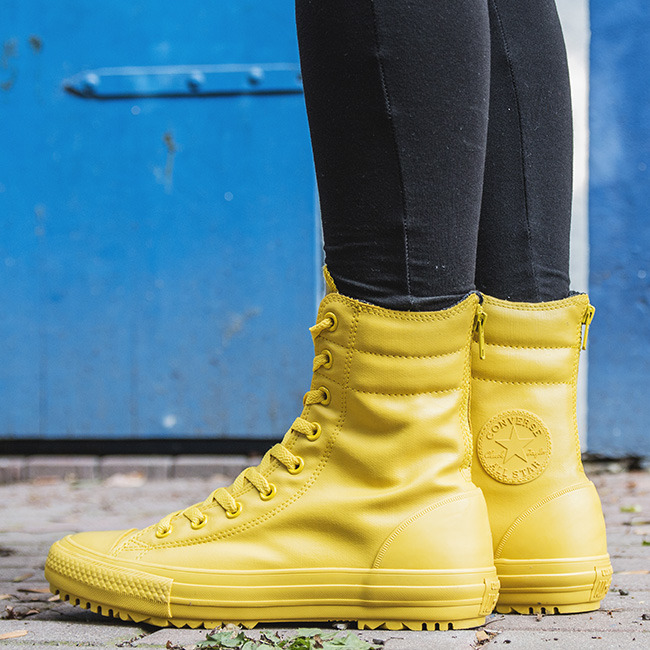 converse rubber yellow