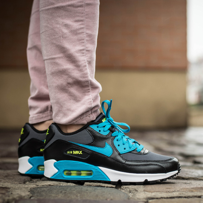 ... WOMEN'S SHOES NIKE AIR MAX 90 (GS) MESH 724824 004 ...
