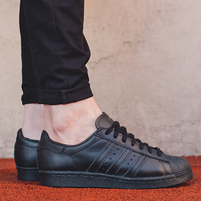 adidas Superstar 80s Primeknit Shoes