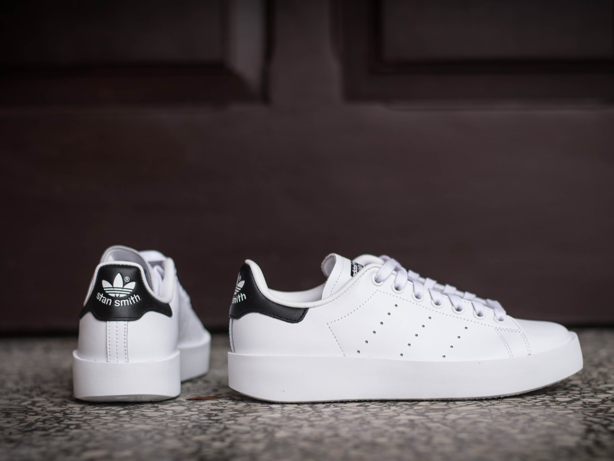 women 39 s shoes sneakers adidas originals stan smith bold s75213 best shoes sneakerstudio. Black Bedroom Furniture Sets. Home Design Ideas