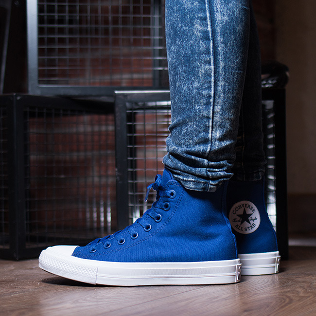 ... Women's Shoes sneakers Converse Chuck Taylor All Star II Hi Sodalite  150146C ...