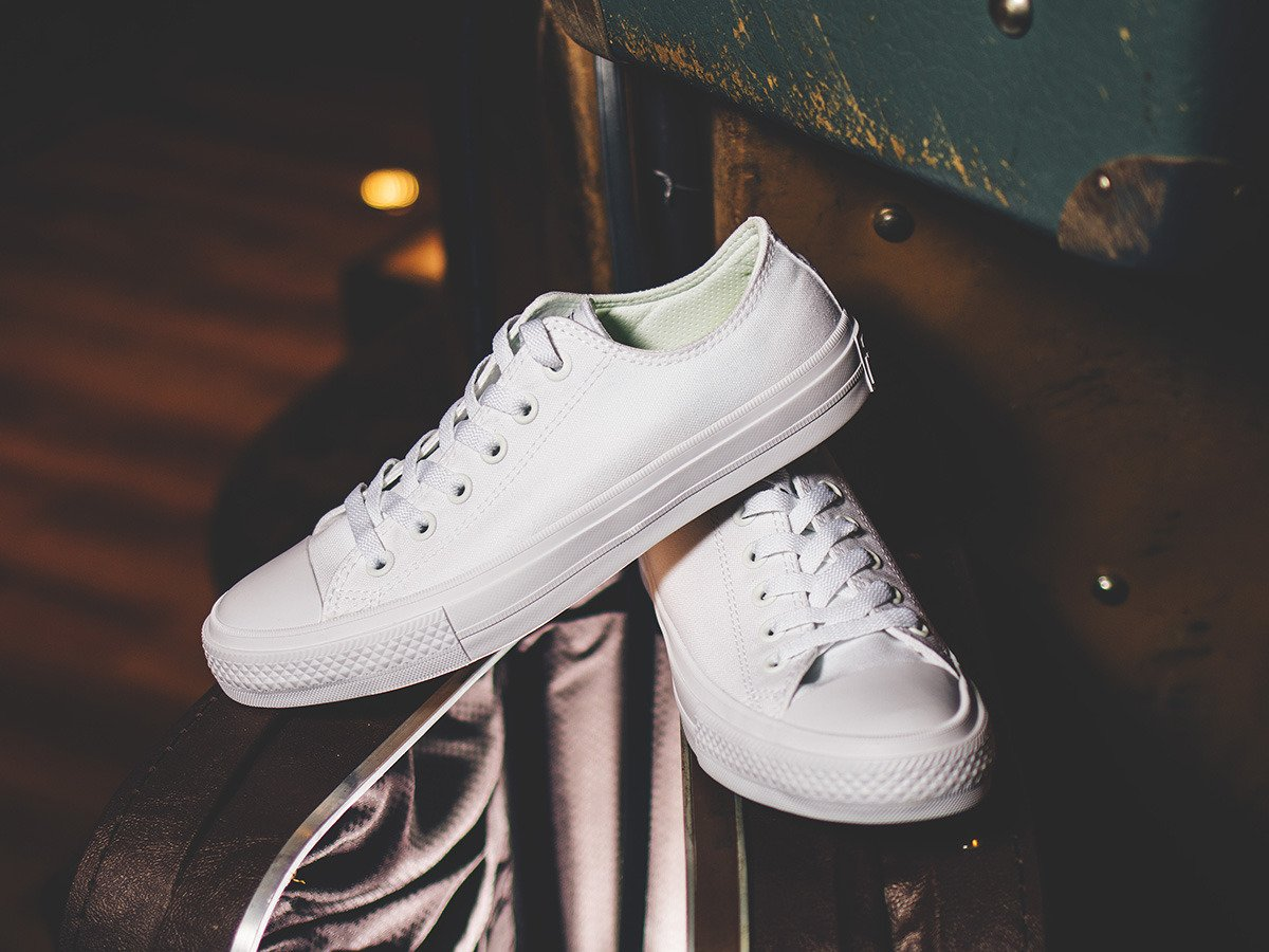 converse chuck taylor 2 all white