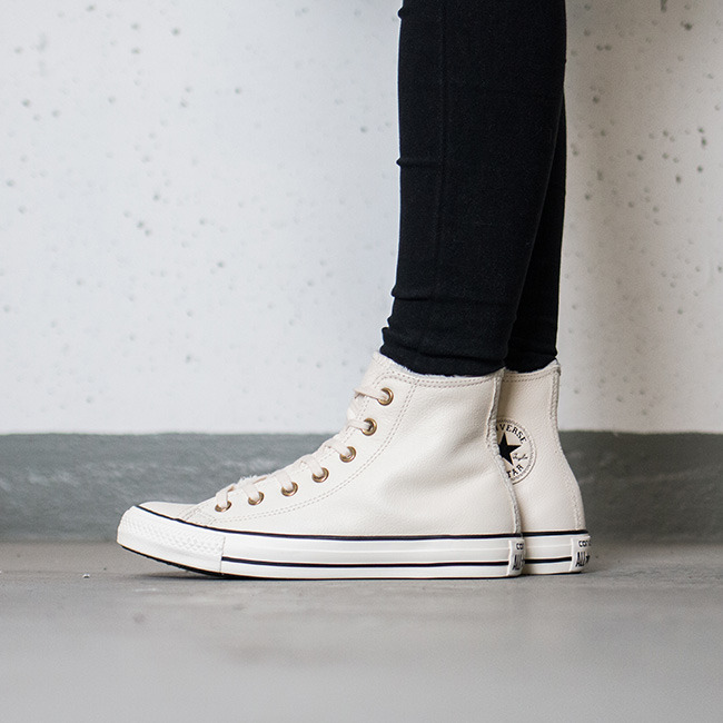 Chuck Taylor® All Star® Knit + Fur Hi Converse oztI1QEoOa